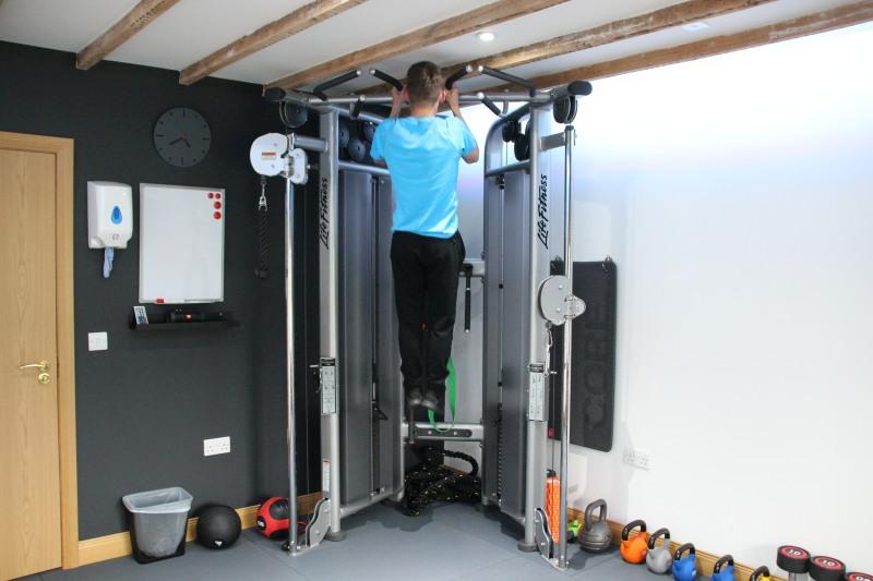 Using Life Fitness Equipment